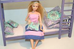 Barbie emeletes ágy, barbie bútor/ Barbie bunkbed