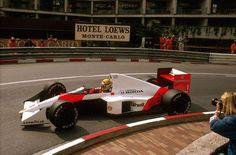 Ayrton Senna, Monaco, 1989