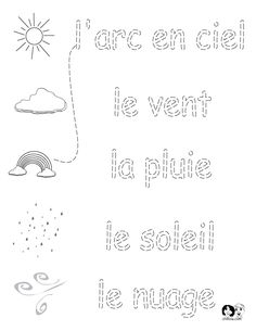 French Worksheets for Kids ~ Spring Printout French ~ French Activities for… Learning French For Kids, French Language Learning, Ways Of Learning, Learning Spanish, English Language, French Flashcards, French Worksheets, Worksheets For Kids, French Teaching Resources