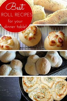 Best Roll Recipes fo