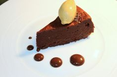 The perfect treat for any chocoholic: our dark and rich Valrhona Chocolate cake. One bite is simply not enough!