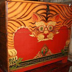 tibetan tiger rug - Google Search Tibetan Rugs, Tibetan Art, Tiger Painting, China Painting, Tiger Rug, Tiger Design, Korean Art, Ancient Art, Indian Art