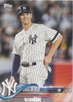 2018 Yankees Topps #NY-16 Cute Baseball Hats, Baseball Treats, Baseball Game Outfits, Baseball Games, Baseball Players, Damn Yankees, New York Yankees Baseball, Ny Yankees, Softball Shirts