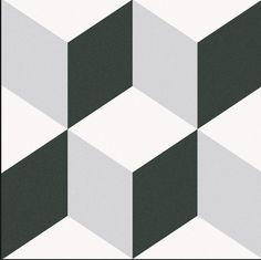 Caprice Porcelain Tiles by Equipe .Expert – Distributor of Spanish Tiles Floor Patterns, Tile Patterns, Wall And Floor Tiles, Wall Tiles, Cubes, Cube Pattern, Border Tiles, Tiles Texture, Vintage Stil