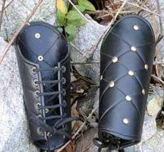 Leather Vambrances