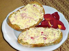 Canapes, Ham, Recipies, Food And Drink, Eggs, Cheese, Cooking, Breakfast, Recipes