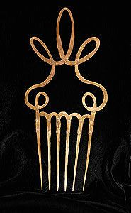 Alexander Calder - hair comb made from brass wire. c.1940