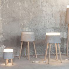 Serax - Beton Concrete Medium Table Lamp