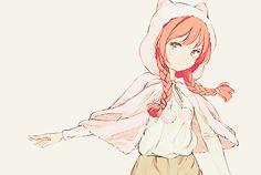 kawaiilove | Anime Girl Pink