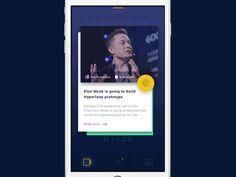 "via Muzli. ""Inspiring swipe gestures"" is published by Muzli in Muzli - Design Inspiration. Best Ui Design, Web Design, App Ui Design, Mobile App Design, User Interface Design, Mobile Ui, App Iphone, Ios App, Motion App"