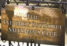 The Extremely Successful Salesman's Club heralded as The Da Vinci Code for Salespeople - cool