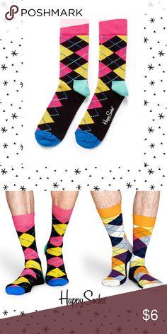 Happy Socks MultiColor Argyle Socks Happy Socks • NWT • multicolor argyle print Happy Socks Underwear & Socks Casual Socks