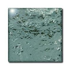 """Abstract Water Photography by Angelandspot - 12 Inch Ceramic Tile by Cassie Peters. $22.99. Dimensions: 12"""" H x 12"""" W x 1/4"""" D. Construction grade. Floor installation not recommended.. Image applied to the top surface. High gloss finish. Clean with mild detergent. Abstract Water Photography by Angelandspot Tile is commercial quality. Construction grade, glossy finish tiles are produced from material clays and minerals into exceptionally reliable finished products tha..."""