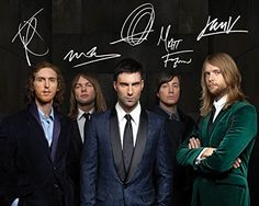Maroon 5  10X8 Lab Quality Signed Photo Print Maroon 5 10x8 Lab Quality Signed High Quality Reproduction Print (Barcode EAN = 5304860745718). http://www.comparestoreprices.co.uk/december-2016-5/maroon-5-10x8-lab-quality-signed-photo-print.asp