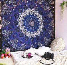 Ceiling Tapestry, Tapestry Curtains, Tapestry Wall Hanging, Dorm Tapestry, Tapestries, Wall Hangings, Tapestry Fabric, Tapestry Design, Indian Tapestry