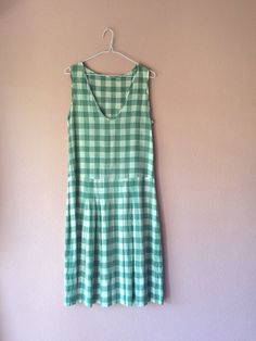1920s drop waist cotton day dress by gladghosts
