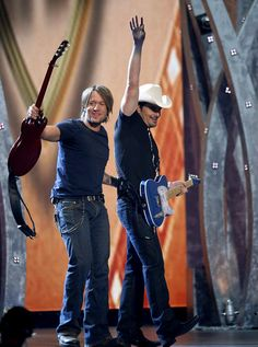 Keith Urban and Brad Paisley