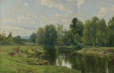 Hugh Bolton Jones 1848-1927 ON THE HOUSATONIC