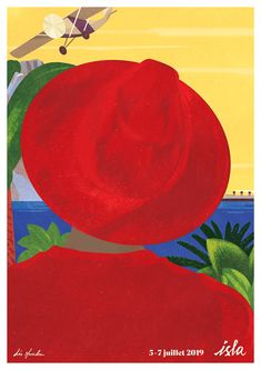 VO | Valérie Oualid : Agent d'illustrateurs | Léa Morichon | Festival Isla Vintage Poster, Illustrations, Vintage Designs, Modern Art, Photos, My Arts, Retro, Color, Inspiration