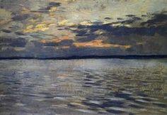 The Lake. Eventide. - (Isaac Levitan)