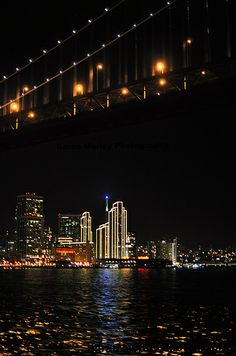 San Francisco Under the Bay Bridge