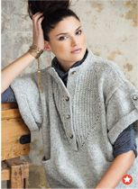 Inside the current issue of Vogue Knitting Magazine Vogue Knitting, Slouchy Sweater, Knit Cardigan, Knit Sweaters, Knitting Magazine, Knit Jacket, Cable Knit, Knitting Patterns, Knitting Ideas