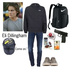 """""""Eli Dillingham 1"""" by fandomsalways ❤ liked on Polyvore featuring Dsquared2, Alexander Wang, The North Face, John Varvatos, NIKE, men's fashion and menswear"""