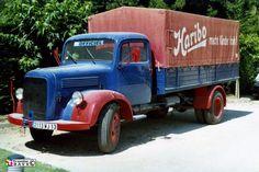 Camion de livraison Haribo