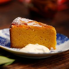 Flourless Orange and Almond Cake - Matt Moran Orange Almond Meal Cake, Orange Dessert, Healthy Orange Cake, Gluten Free Sweets, Gluten Free Cakes, Gluten Free Baking, Gluten Free Almond Cake, Almond Recipes, Baking Recipes