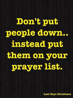 Wow! Great message :-) Definitely need to implement this into my prayer life...