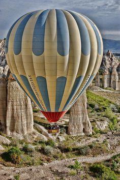 Hot air Balloon in Cappadocia, Turkey