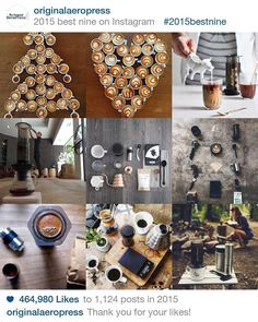Thank you all for a great 2015 sharing this amazing coffee world. See you all in the new year! - Keep Pressing by originalaeropress
