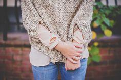 A Girl Named Leney: knitting