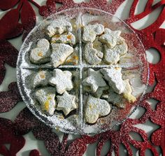 Biscotti natalizi al profumo di agrumi