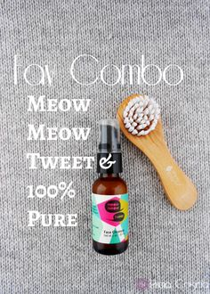 I found the Perfect Pair with Meow Meow Tweet & 100% Pure from my Petit Vour box!