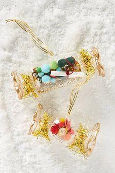 Anthropologie | Christmas Cracker Ornament