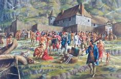 Fifteen hundred ells of limbourg, half blue and half red Six hundred ells of sempitemc Fifty plumes of different colors Fifty pairs . Choctaw Indian, Trois Rivieres, Seven Years' War, French Colonial, Canadian History, Colonial America, Old West, Military History, 18th Century