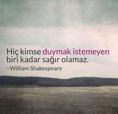 ✔Heç kimsə eşitmək istəməyən biri qədər kar ola bilməz. #William_Shakespeare