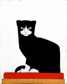 The Cat by Bart Van Der Leck.
