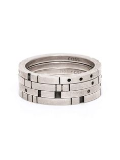 Sterling Silver Metropolis Four Stack Ring | e.g.etal | Melbourne