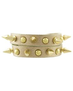 Spike Studded Wrap Bracelet from The Shopping Bag  #StyleEveryMile