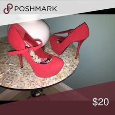 5 inch stiletto heels red platform 5 inch stiletto heels red platform Shoes Platforms