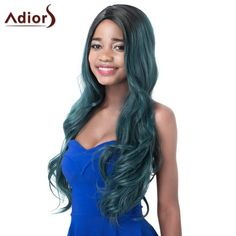 Attractive High Temperature Fiber Adiors Curly Ombre Women's Wig #>=#>=#>=#>=#> Click on the pin to check out discount price, color, size, shipping, etc. Save and like it!