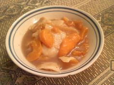 Mom's Homemade Peach Dumplings Recipe