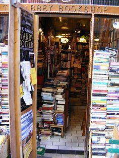 I could spend hours in a bookstore like this! (Abbey Bookshop)