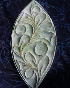 Nice pattern for an oval shape
