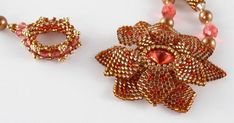 Beading Instructions and Bead Patterns for Beginner through Advanced Beaders Wire Jewelry, Jewelry Crafts, Beaded Jewelry, Seed Bead Patterns, Beading Patterns, Beads And Wire, Beading Tutorials, Beaded Flowers, Earrings