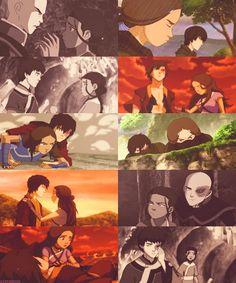 Zuko and Katara. the way it should've been...