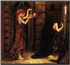 Hope in a Prison of Despair-  Evelyn De Morgan (30 August 1855-2 May 1919)