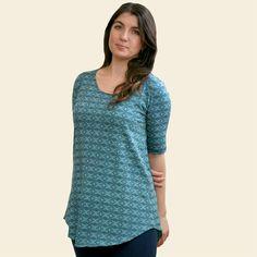 Swing Tunic made from Organic Cotton (in additional colors). Always Organic. Always Fair Trade. www.maggiesorganics.com